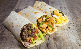 Clausitos Catering Menü Burrito Bar