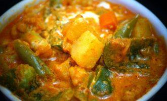 Veggi Masala Curry